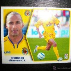Cromos de Fútbol: ARMANDO BAJA DEL VILLARREAL ALBUM ESTE LIGA 2005 - 2006 ( 05 - 06 ) . Lote 132820905