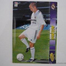 Cromos de Fútbol: MEGACRACKS 2004 2005 PANINI Nº 466 OWEN (REAL MADRID) NUEVO FICHAJE - FUTBOL CROMO LIGA 04 05. Lote 139640490