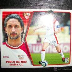 Figurine di Calcio: PABLO ALFARO DEL SEVILLA ALBUM ESTE LIGA 2005 - 2006 ( 05 - 06 ). Lote 210970115