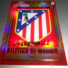 Cromos de Fútbol: MGK 37 ESCUDO AT. MADRID CROMOS ALBUM MEGACRACKS LIGA FUTBOL 2013 2014 13 14. Lote 207095980