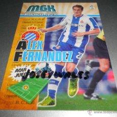 Cromos de Fútbol: MGK FICHAJE BIS 138 ALEX FERNANDEZ ESPANYOL CROMOS ALBUM MEGACRACKS LIGA FUTBOL 2013 2014 13 14. Lote 40692180