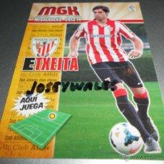 Cromos de Fútbol: MGK FICHAJE BIS 22 ETXEITA ATHLETIC BILBAO CROMOS MEGACRACKS LIGA FUTBOL 2013 2014 13 14. Lote 207095808