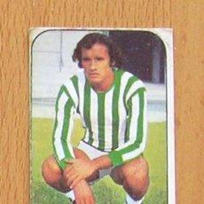 Cromos de Fútbol: BETIS - MENDIETA - EDICIONES ESTE 1976-1977, 76-77. Lote 39664684