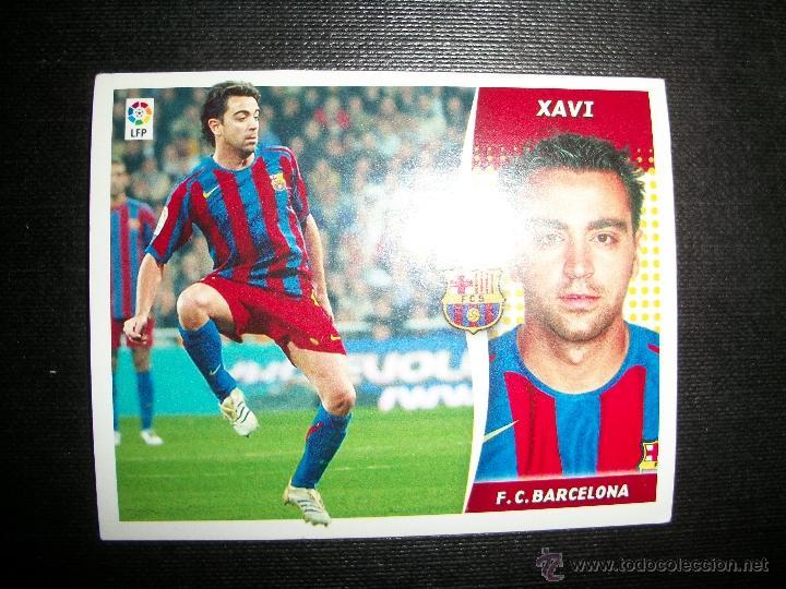XAVI DEL BARCELONA ALBUM ESTE LIGA - 2006- 2007 ( 06 - 07 ) (Coleccionismo Deportivo - Álbumes y Cromos de Deportes - Cromos de Fútbol)