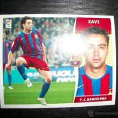 Figurine di Calcio: XAVI DEL BARCELONA ALBUM ESTE LIGA - 2006- 2007 ( 06 - 07 ). Lote 236039900