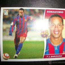 Cromos de Fútbol: RONALDINHO DEL BARCELONA ALBUM ESTE LIGA - 2006- 2007 ( 06 - 07 ). Lote 183398151