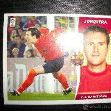 Figurine di Calcio: JORQUERA DEL BARCELONA ALBUM ESTE LIGA - 2006- 2007 ( 06 - 07 ). Lote 263178830