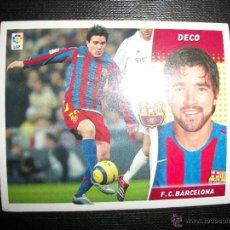 Figurine di Calcio: DECO DEL BARCELONA ALBUM ESTE LIGA - 2006- 2007 ( 06 - 07 ). Lote 263178245