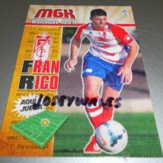 Cromos de Fútbol: MGK FICHAJE BIS 172 FRAN RICO GRANADA CROMOS ALBUM MEGACRACKS LIGA FUTBOL 2013 2014 13 14 . Lote 39683863