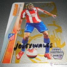 Cromos de Fútbol: 396 FORLAN MEGA ESTRELLAS ULTRA CRYSTAL CARD AT. MADRID CROMOS LIGA MEGACRACKS 2008 2009 08 09. Lote 263190695