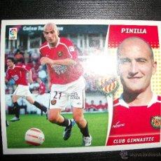 Figurine di Calcio: PINILLA DEL CLUB GIMNASTIC DE TARRAGONA ALBUM ESTE LIGA - 2006- 2007 ( 06 - 07 ). Lote 222073485