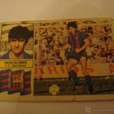 Cromos de Fútbol: 82-83 ESTE. PICHI ALONSO. BARCELONA. SIN FCB.. Lote 39867514
