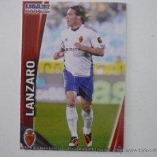 Cromos de Fútbol: MUNDICROMO 2012 Nº 334 LANZARO (REAL ZARAGOZA) - CROMO 2011 2012 . Lote 45929707