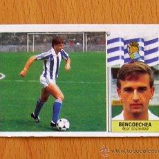Cromos de Fútbol: REAL SOCIEDAD - BENGOECHEA - COLOCA - EDICIONES ESTE 1986-1987, 86-87. Lote 39886103