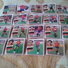 Cromos de Fútbol: LOTE 19 CROMOS OSASUNA LIGA 89 90 1989 1990 FUTBOL NUNCA PEGADOS EDICIONES ESTE. Lote 39901238