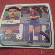 Cromos de Fútbol: CROMO FUTBOL CLUB BARCELONA ROURA LIGA 89 90 1989 1990 EDICIONES ESTE NUNCA PEGADO DIFICIL. Lote 39922722