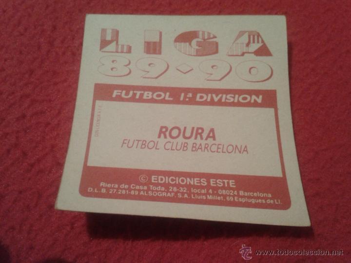 Cromos de Fútbol: CROMO DIFICIL - Foto 2 - 39922722