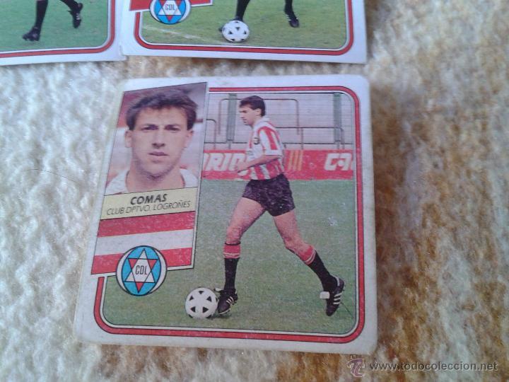 Cromos de Fútbol: LOTE 15 CROMOS FUTBOL LOGROÑES LIGA 89 90 1989 1990 NUNCA PEGADOS CON COMAS DIFICIL EDICIONES ESTE - Foto 2 - 39984748