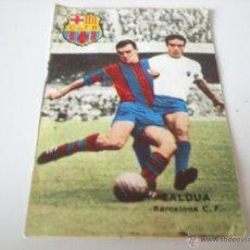 Cromos de Fútbol: ZALDUA – FC. BARCELONA (COLECCIÓN FHER 1967/1968). Lote 40085384