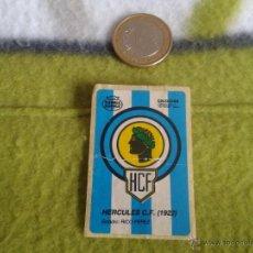 Cromos de Fútbol: CROMO CHICLE DUBBLE BUBBLE FUTBOL HERCULES COLECCION SPORT AÑOS 80 NUNCA PEGADO. Lote 40123827
