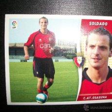 Cromos de Fútbol: SOLDADO BAJA DEL OSASUNA ALBUM ESTE LIGA - 2006- 2007 ( 06 - 07 ). Lote 183398217