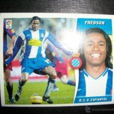 Figurine di Calcio: FREDSON DEL ESPAÑOL ALBUM ESTE LIGA - 2006- 2007 ( 06 - 07 ). Lote 227847125