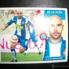 Cromos de Fútbol: DE LA PEÑA DEL ESPAÑOL ALBUM ESTE LIGA - 2006- 2007 ( 06 - 07 ). Lote 183398235