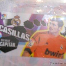 Cromos de Fútbol: IKER CASILLAS REAL MADRID SERIE CAPITAN CHICLE LIGA CROMOS CHICLES EDICIONES ESTE 2013 2014 13 14. Lote 180297258
