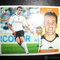 Figurine di Calcio: EDU DEL VALENCIA ALBUM ESTE LIGA - 2006- 2007 ( 06 - 07 ). Lote 231820480