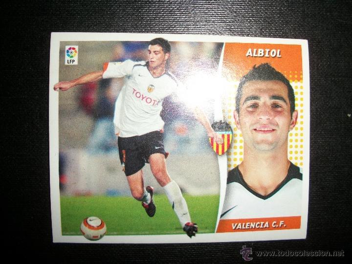 ALBIOL DEL VALENCIA ALBUM ESTE LIGA - 2006- 2007 ( 06 - 07 ) (Coleccionismo Deportivo - Álbumes y Cromos de Deportes - Cromos de Fútbol)