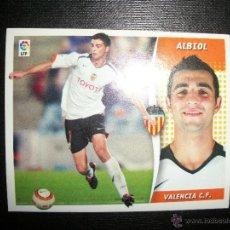 Figurine di Calcio: ALBIOL DEL VALENCIA ALBUM ESTE LIGA - 2006- 2007 ( 06 - 07 ). Lote 231809480