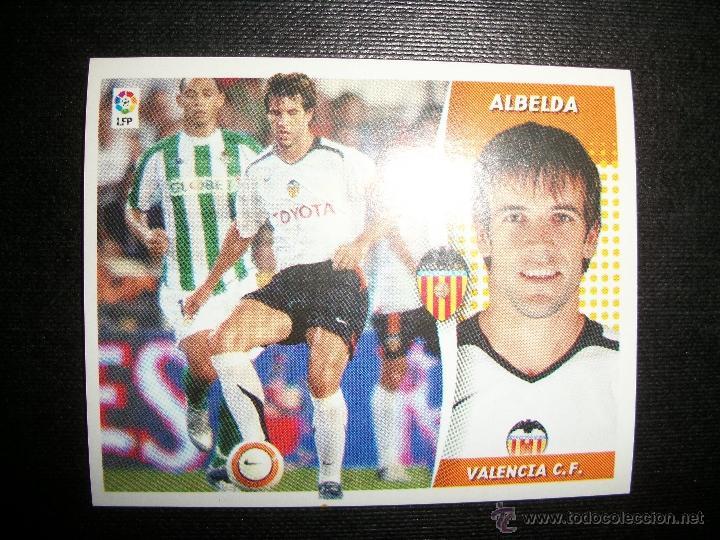 ALBELDA DEL VALENCIA ALBUM ESTE LIGA - 2006- 2007 ( 06 - 07 ) (Coleccionismo Deportivo - Álbumes y Cromos de Deportes - Cromos de Fútbol)