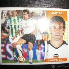 Figurine di Calcio: ALBELDA DEL VALENCIA ALBUM ESTE LIGA - 2006- 2007 ( 06 - 07 ). Lote 231810485