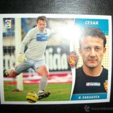 Figurine di Calcio: CESAR DEL ZARAGOZA ALBUM ESTE LIGA - 2006- 2007 ( 06 - 07 ). Lote 246483020