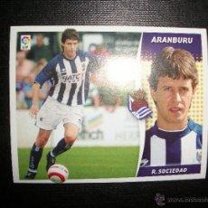 Cromos de Fútbol: ARANBURU DE LA REAL SOCIEDAD ALBUM ESTE LIGA - 2006- 2007 ( 06 - 07 ). Lote 183398351