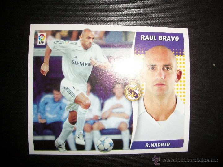 RAUL BRAVO DEL REAL MADRID ALBUM ESTE LIGA - 2006- 2007 ( 06 - 07 ) (Coleccionismo Deportivo - Álbumes y Cromos de Deportes - Cromos de Fútbol)