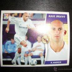 Figurine di Calcio: RAUL BRAVO DEL REAL MADRID ALBUM ESTE LIGA - 2006- 2007 ( 06 - 07 ). Lote 272393938