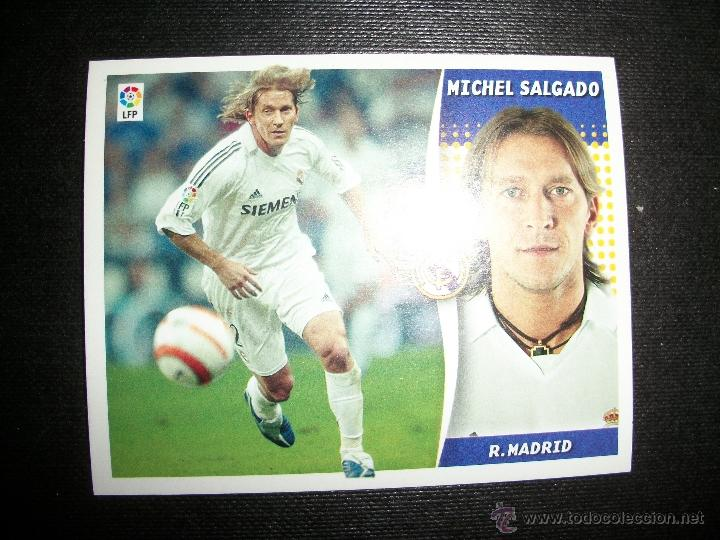 MICHEL SALGADO DEL REAL MADRID ALBUM ESTE LIGA - 2006- 2007 ( 06 - 07 ) (Coleccionismo Deportivo - Álbumes y Cromos de Deportes - Cromos de Fútbol)