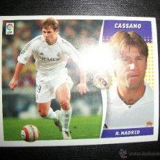 Figurine di Calcio: CASSANO DEL REAL MADRID ALBUM ESTE LIGA - 2006- 2007 ( 06 - 07 ). Lote 272395043
