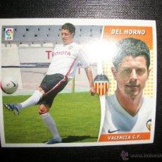 Figurine di Calcio: DEL HORNO DEL VALENCIA ULTIMO FICHAJES- FICHAJE 17 ALBUM ESTE LIGA - 2006- 2007 ( 06 - 07 ). Lote 231812390