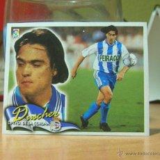 Cromos de Fútbol: EDICIONES ESTE 2000-2001 00 01 FICHAJE 12 DUSCHER (DEPORTIVO) RECORTADO LEER. Lote 40575860