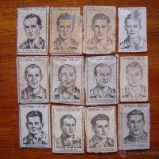 Cromos de Fútbol: ARENAS DE GETXO - TEMPORADA 1936/37 - 23 CROMOS DE CAJAS DE CERILLAS - EQUIPO COMPLETO - RARÍSIMO. Lote 40655020
