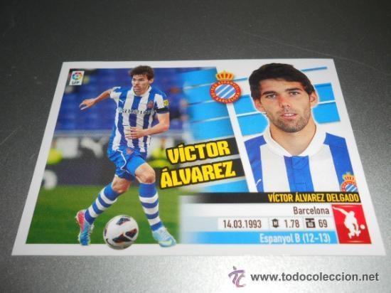 VICTOR ALVÁREZ RC E ESPANYOL (Coleccionismo Deportivo - Álbumes y Cromos de Deportes - Cromos de Fútbol)