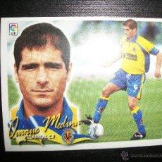 Cromos de Fútbol: QUIQUE MEDINA DEL VILLARREAL ALBUM ESTE LIGA 2000 - 2001 ( 00 - 01 ) . Lote 40730595