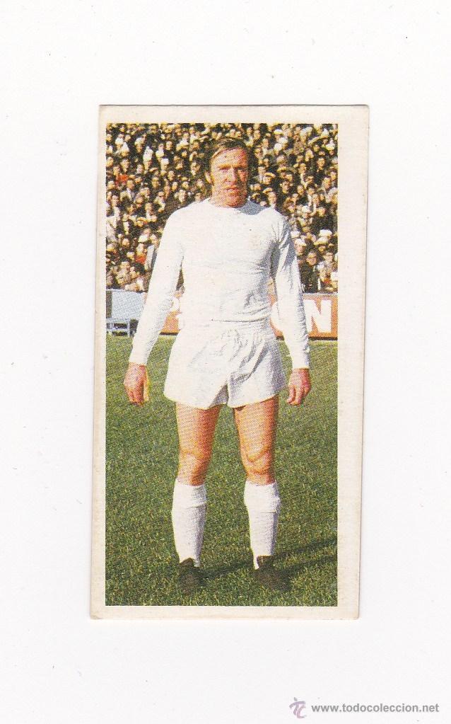 EDICIONES ESTE 1975-1976 - NETZER (REAL MADRID) LIGA 75-76 (Coleccionismo Deportivo - Álbumes y Cromos de Deportes - Cromos de Fútbol)