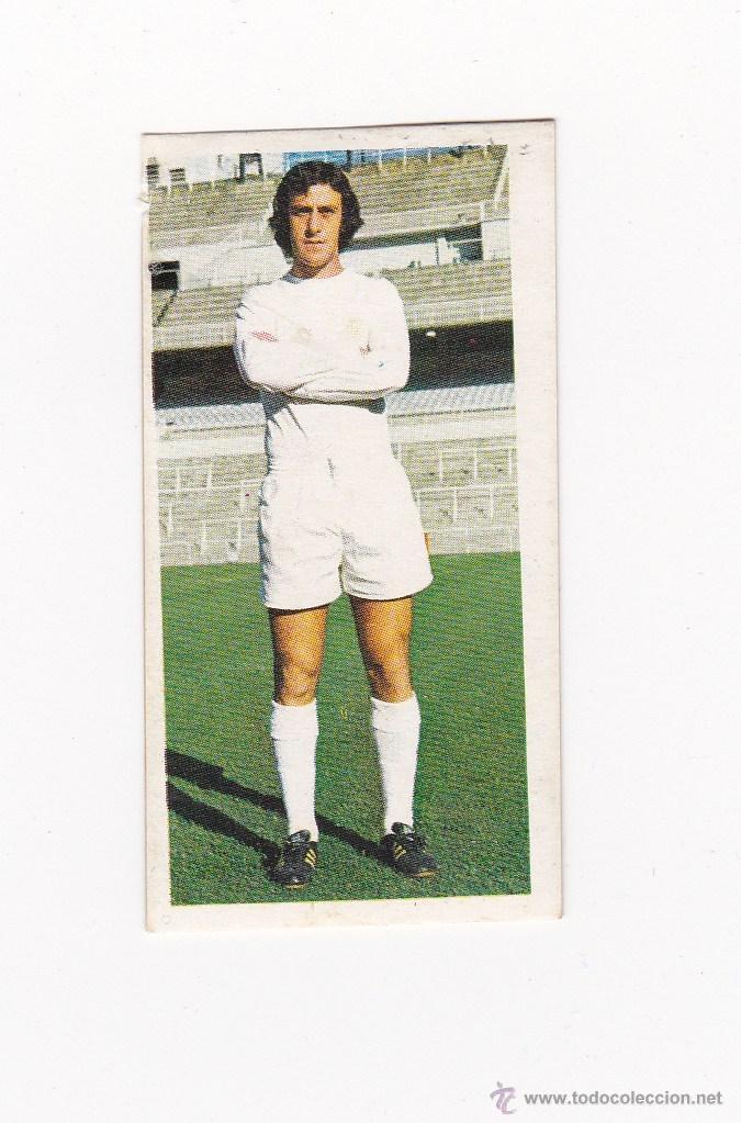 EDICIONES ESTE 1975-1976 - DEL BOSQUE (REAL MADRID) LIGA 75-76 (Coleccionismo Deportivo - Álbumes y Cromos de Deportes - Cromos de Fútbol)