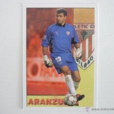 Figurine di Calcio: MUNDICROMO FICHAS LIGA 2004 Nº 679 ARANZUBIA (ATHLETIC CLUB BILBAO) LOS + SEGUROS - CROMO 2003 04. Lote 273164863