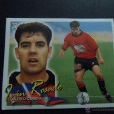 Cromos de Fútbol: IVAN ROSADO DEL OSASUNA ALBUM ESTE LIGA 2000 - 2001 ( 00 - 01 ) . Lote 40776581