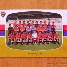 Cromos de Futebol: OSASUNA - PLANTILLA - CROMOS CANO 1984-1985, 84-85. Lote 40803950