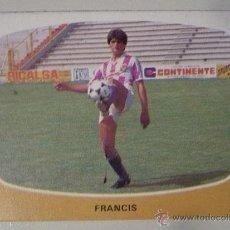 Cromos de Fútbol: FRANCIS REAL VALLADOLID 84-85 ULTIMO FICHAJE 24 A CROMOS CANO 1984-85. Lote 40971788